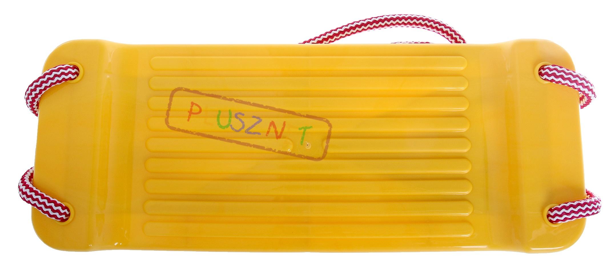 Hustawka Ogrodowa Dla Dzieci Plastikowa : Ogrodowa HUŚTAWKA Deska Plastikowa dla dzieci (5269996049)  Allegro